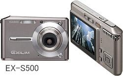 EXILIM CARD EX-S500